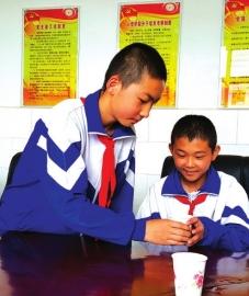 白银景泰县13岁少年滕景涛