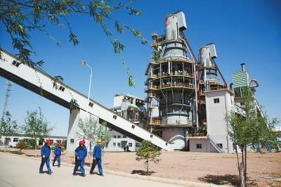 金昌水泥集团年产40万吨电石项目建成投产(图)