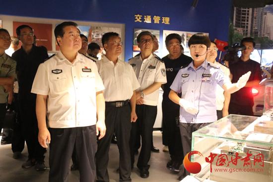 甘肃警察博物馆正式开馆 马世忠出席仪式并揭牌(图)