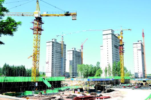 白银靖远县新城小区(二期、三期)棚户区改造