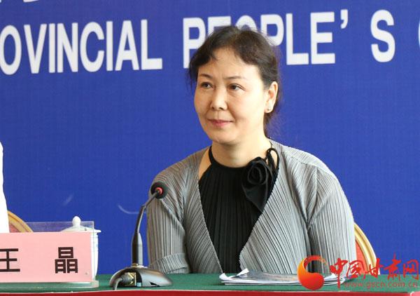 中国残疾人艺术团副团长王晶