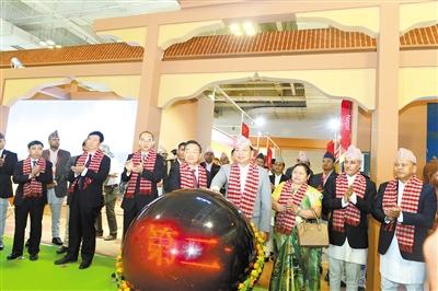 尼泊尔副总统南德·巴哈杜尔·普恩——欢迎甘肃企业来创业发展