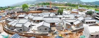 """平凉崇信县""""汭龙堡""""农耕文化生态苑项目一期已经基本建成(图)"""