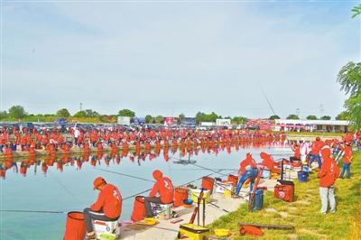 200名垂钓爱好者于庆阳西峰温泉镇比赛(图)