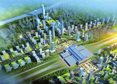 兰州西站或将成为市内最大的现代化商贸中心