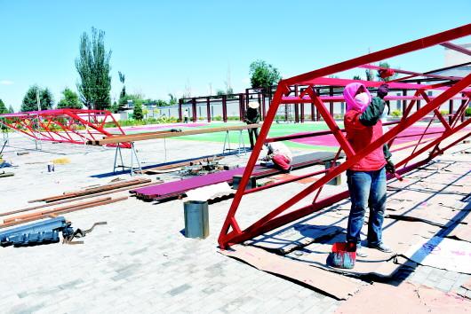 酒泉:肃州区总寨镇不断完善基础设施建设