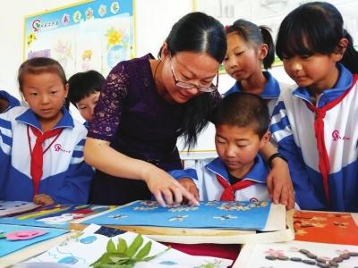 爱心小学有一位爱心老师——记张掖山丹山羊堡爱心小学女教师张莹萍