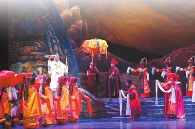 【掠影】《唐东杰布》:古典藏戏的现代呈现(图)