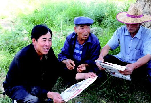 酒泉肃州区各乡镇(社区)利用多种方式广泛宣传省党代会精神(图)