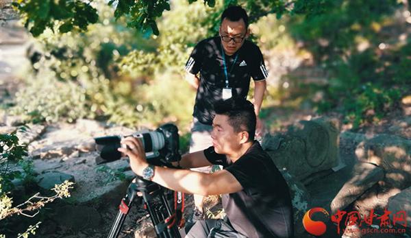 甘肃大型人文纪录片《古道崇信》在平凉崇信紧张拍摄(图)