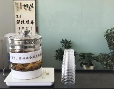 兰州市二院新增保健凉茶患者免费享用(图)