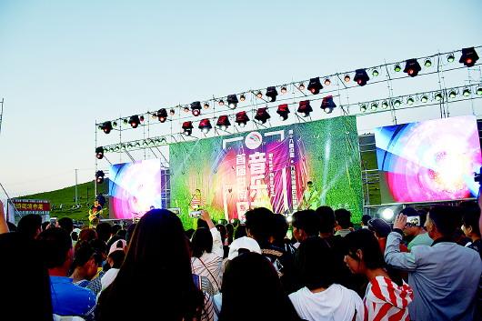 甘南州首届草地音乐节在当周草原拉开序幕