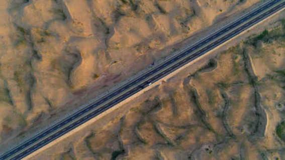"""中国西北加快交通建设 推进""""一带一路""""设施联通"""