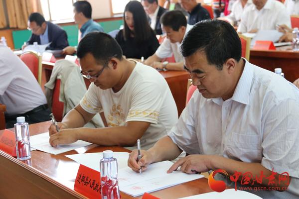 甘南州旅游节招商引资签约项目17个 总投资14.68亿元(图)