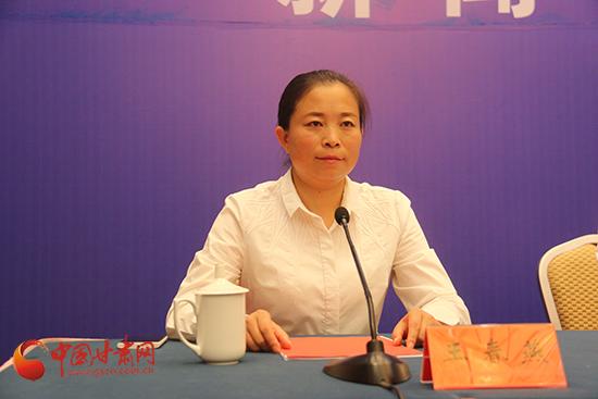 中共民乐县委常委、宣传部长王春燕