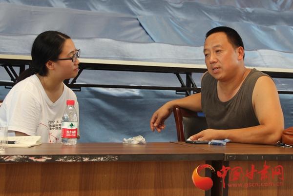 【新闻学子重走西北角】北川奥运火炬手苟义国:我只是一名普通的体育教师