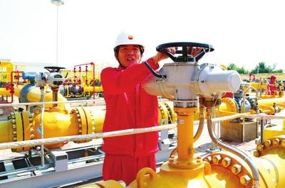 兰定输气管道投产成功 定西市民将用上清洁无污染天然气