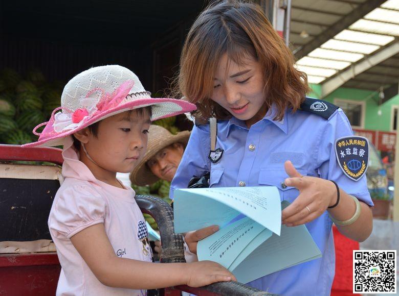 天水武山县加大暑期溺水隐患宣传 增强河道安全防范意识(图)