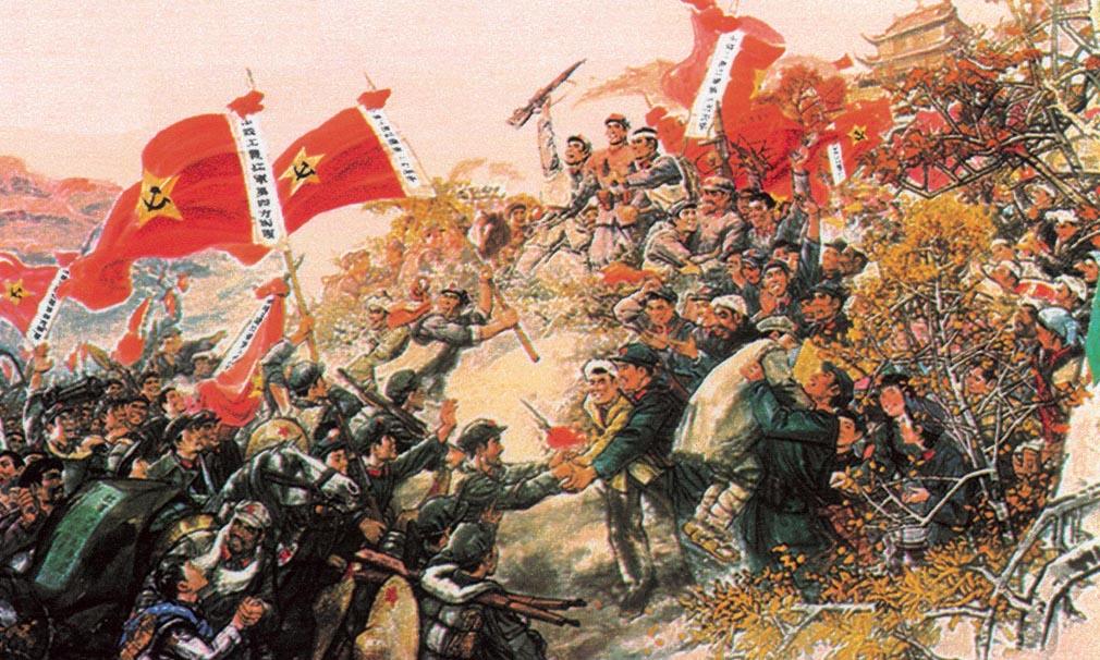 革命历程|三军会师 威震陇原(31)