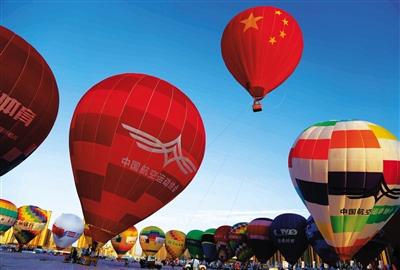 中国热气球俱乐部联赛安宁站赛事昨日完美收官