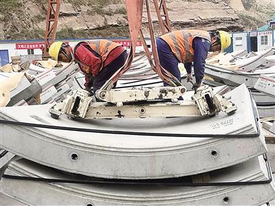 【砥砺奋进的五年】兰州市水源地项目输水隧洞有望年底贯通