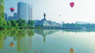 2017中国热气球俱乐部联赛兰州安宁站闭幕(图)