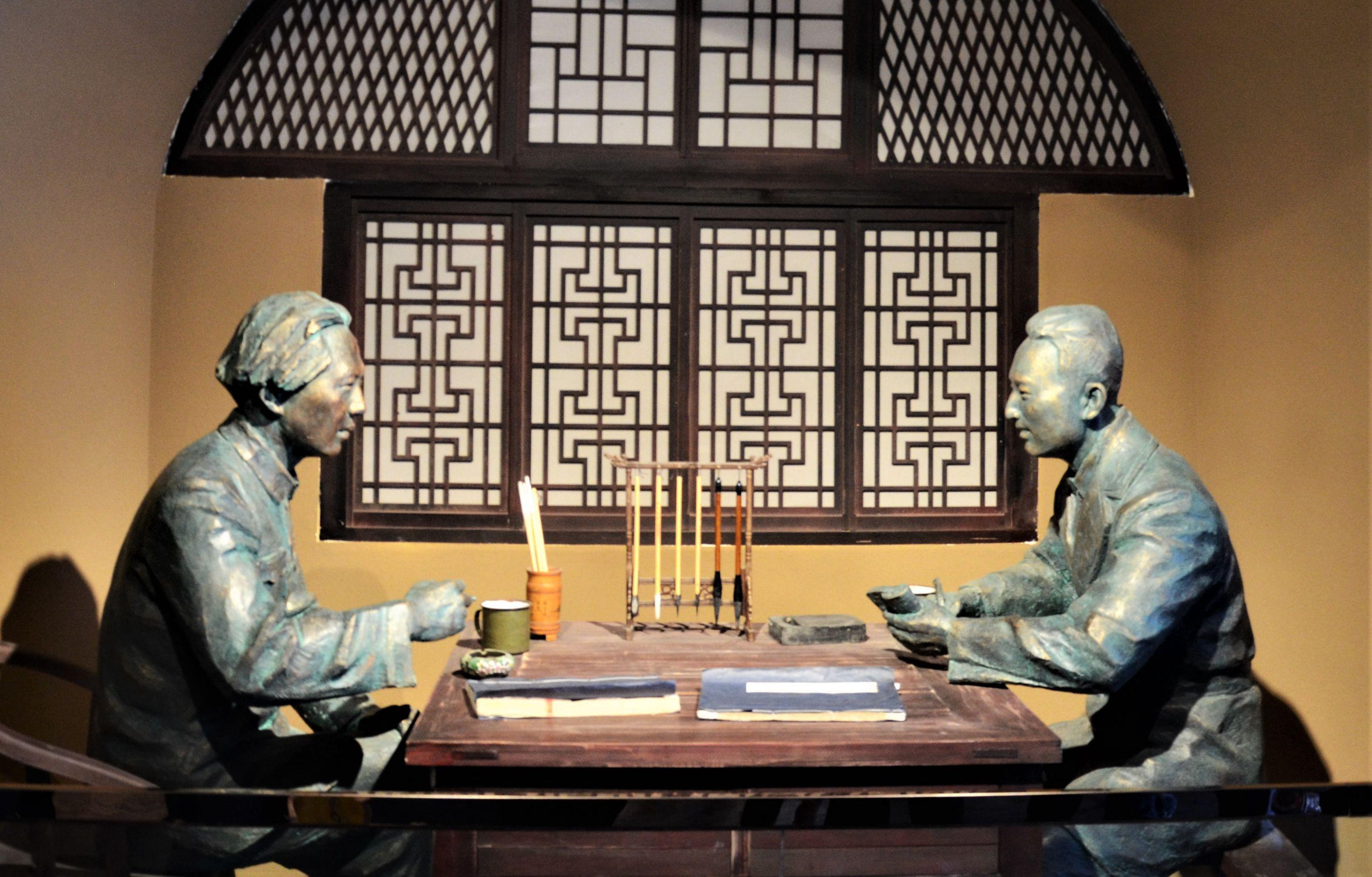 【新闻学子重走西北角】永远的背影——范长江纪念馆考察记