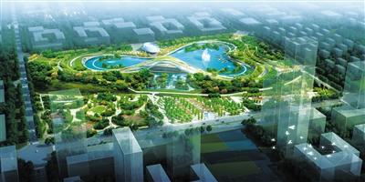 兰州彭家坪中央生态公园东区预计年底开园迎客(图)