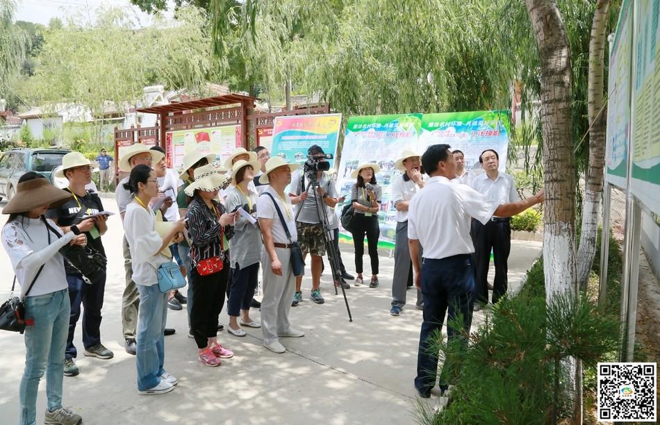 陇原环保世纪行记者团深入天水清水县开展集中采访活动(图)