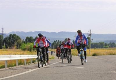 金昌美丽乡村自行车越野赛激情开赛