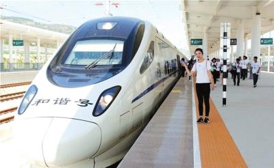 宝兰高铁运营满月旅客发送量突破百万(图)