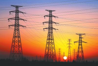 图说甘肃|沐浴在晨光中的庆阳330千伏良平输变电工程
