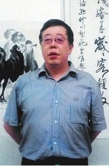刘富强书法艺术的修炼没有捷径(组图)