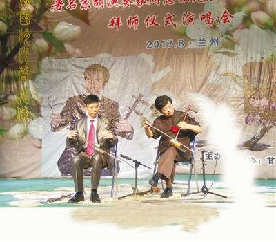 著名京胡演奏家周志强兰州收徒(图)
