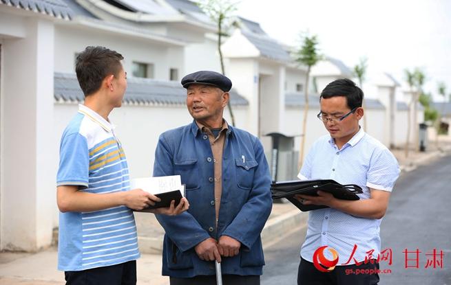 甘肃永昌:坝里新房一幢幢 农民生活变了样