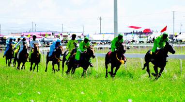 中国·九色甘南香巴拉甘南玛曲第十一届格萨尔赛马节开幕