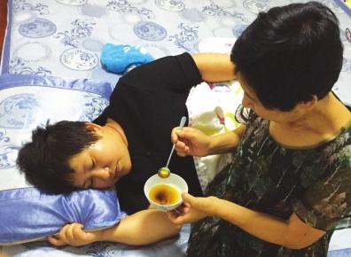 兰州皋兰县教师王彩萍重回讲台的信念笑对病魔