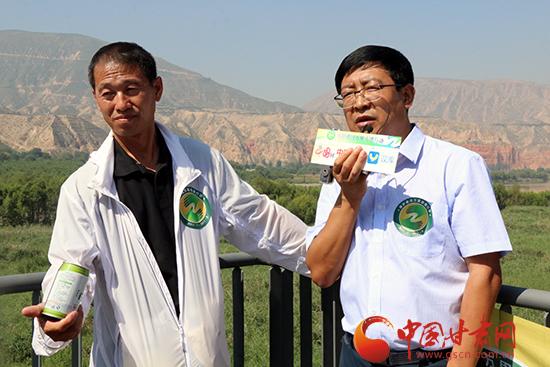 刘尚增:喝上游水想下游人 保护黄河义不容辞(图)