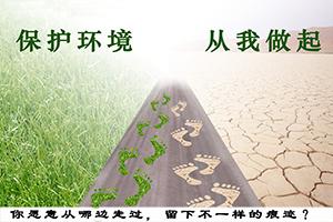 保护生态环境 《保护环境,从我做起》