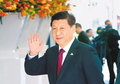 """这5年,习近平向世界展示""""中国名片"""""""