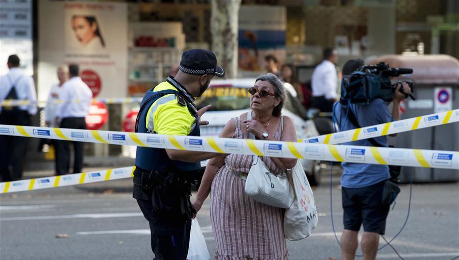 西班牙巴塞罗那恐袭造成13死80伤