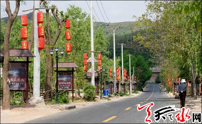 天水两个村庄入选改善农村人居环境示范村