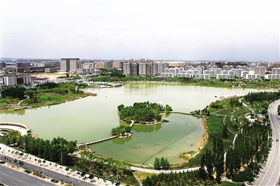 【砥砺奋进的五年】兰州新区五年蝶变 秦王川崛起一座现代新城