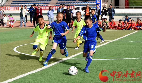中国足球民间争霸赛(甘肃赛区)总决赛在酒泉肃北县开赛(图)