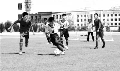 中国足球民间争霸赛(甘肃赛区)总决赛在酒泉肃北开赛
