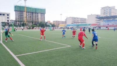 兰州市红古区举办首届九人制足球比赛(图)