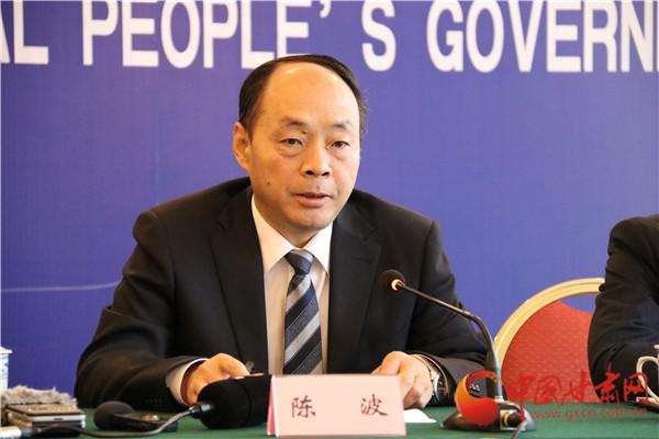甘肃省发改委副主任兼西部开发办公室主任陈波