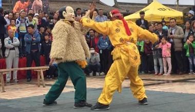 甘肃榆中黄河古镇办民俗文化旅游节 以节促旅引客来