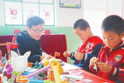 平凉市农村学校开展丰富多彩的校园活动(图)