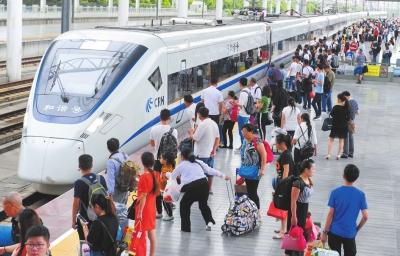 2017年暑运落幕 兰铁局发送旅客创历史新高航空市场增长迅猛(图)